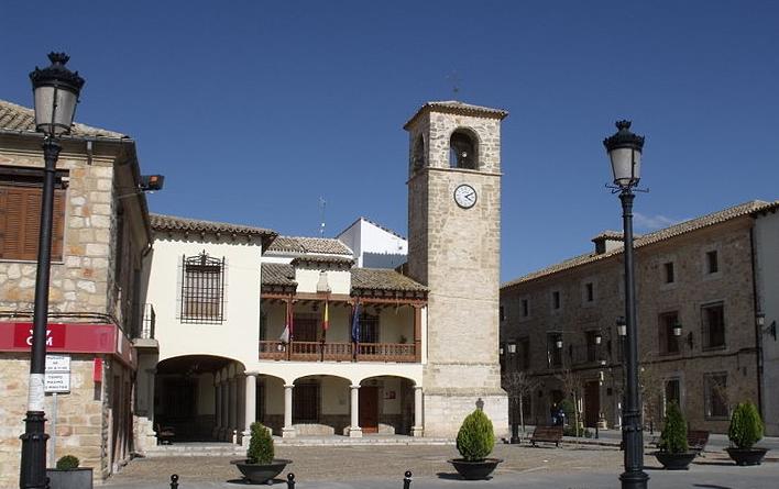 Plaza Mayor de Mota del Cuervo (Castilla-La Mancha)