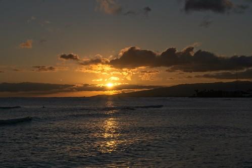 sony a6400 1650 cplfilter sunset sky sea ocean oahu honolulu hawaii magicisland clouds