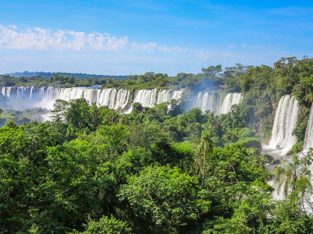Vista de las Cataratas de Iguazu