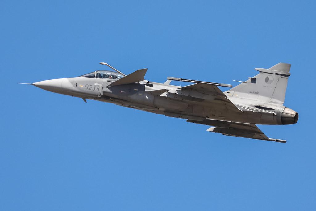 JAS-39C Gripen RIAT2018