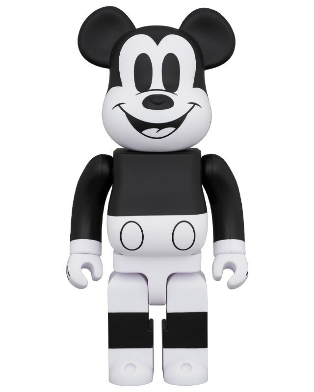 MEDICOM TOY BE@RBRICK 系列「米奇 (Mickey Mouse) B&W 2020 版」100% & 400%套裝組、1000% 同步登場!MICKEY MOUSE (B&W 2020 Ver.)