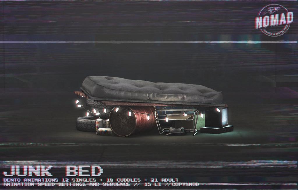NOMAD // Junk Bed