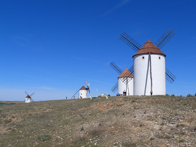 Molinos de viento de Mota del Cuervo (Cuenca, Castilla-La Mancha)