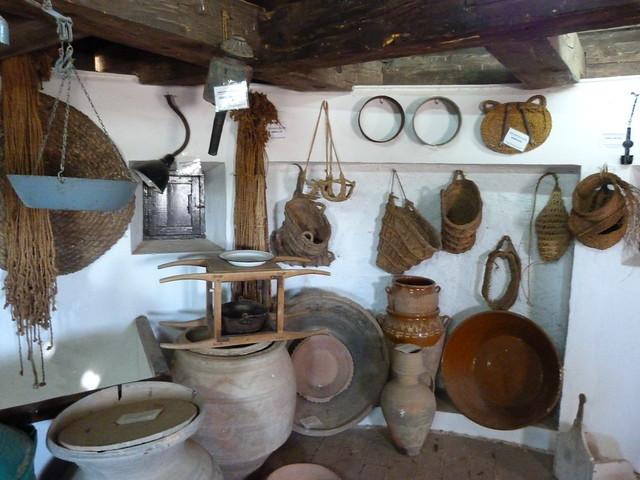 Museo en uno de los molinos de Mota del Cuervo