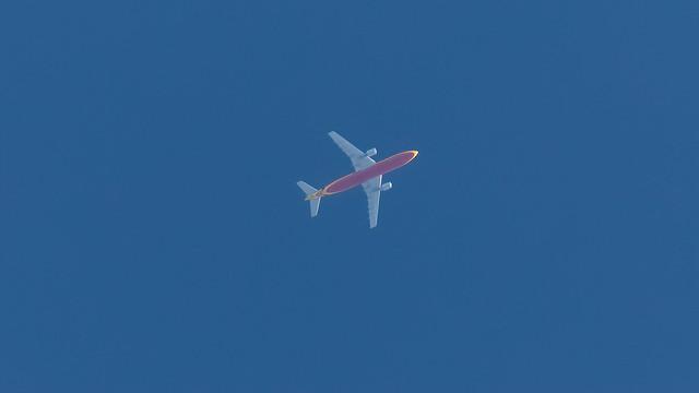 DHL D-AEAQ Airbus A300B4-622R(F) Clitheroe 27.04.2020