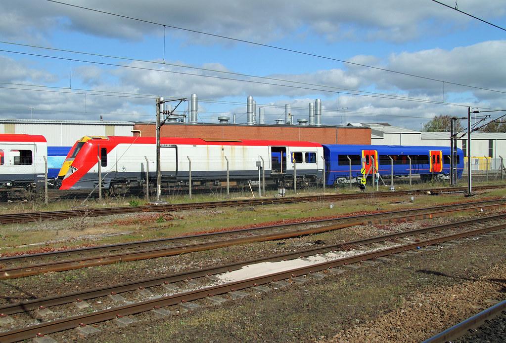 Class 460 67908 Doncaster