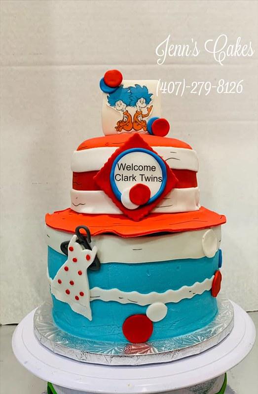 Cake by Jenn's Cakes