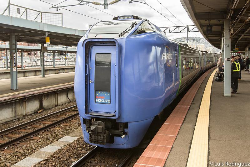 Tren Super Hokuto entre Hakodate y Sapporo