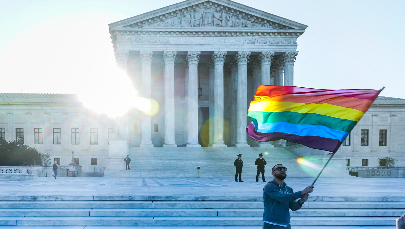 Thank you for publishing my photo, in Federal Law Now Protects LGBTQ Employees From Discrimination. But What's Next? | WUNC