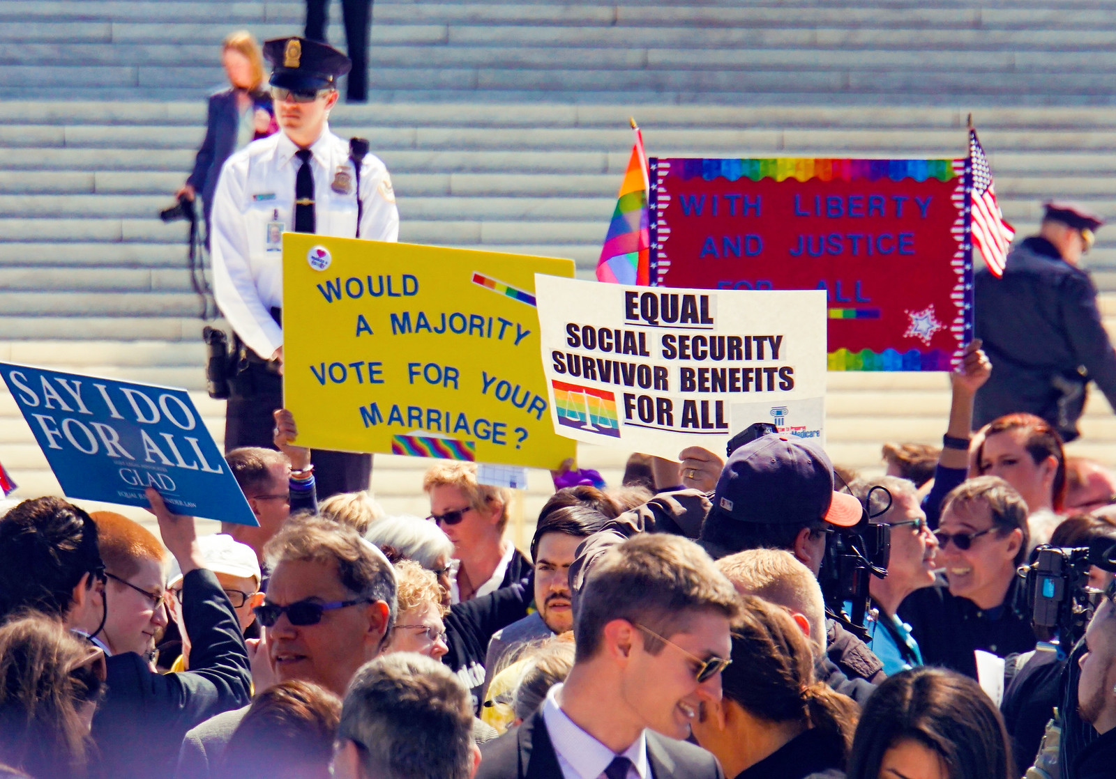 2015.04.28 SCOTUS DOMA, Washington, DC USA