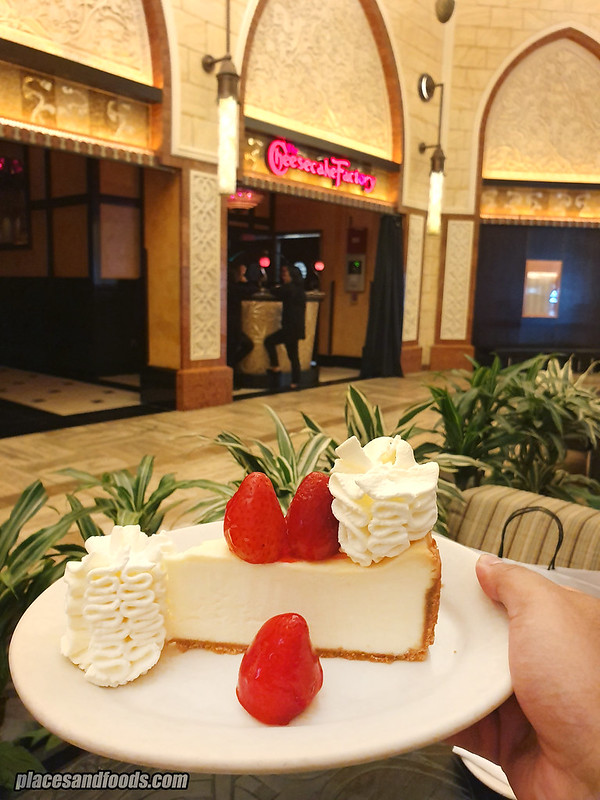 dubai mall cheesecake