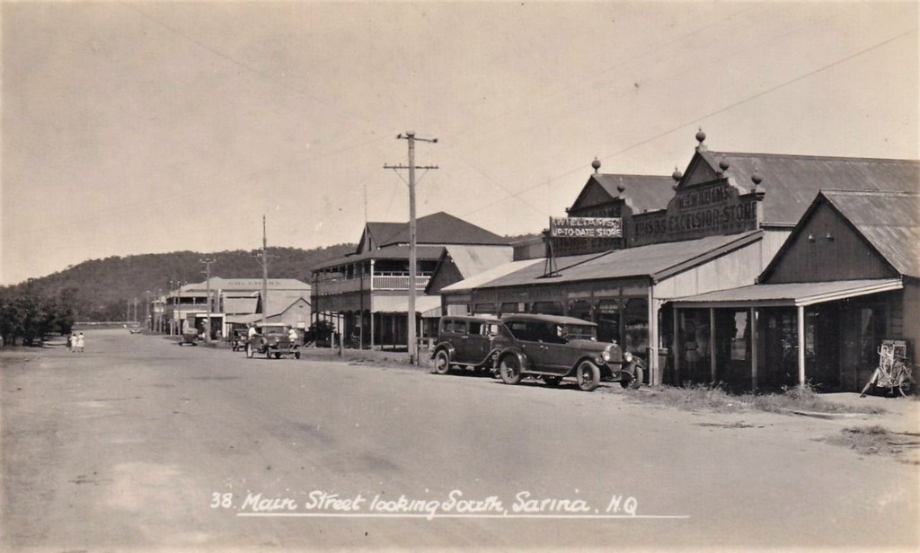 Main Street in Sarina, Qld - 1930s perhaps