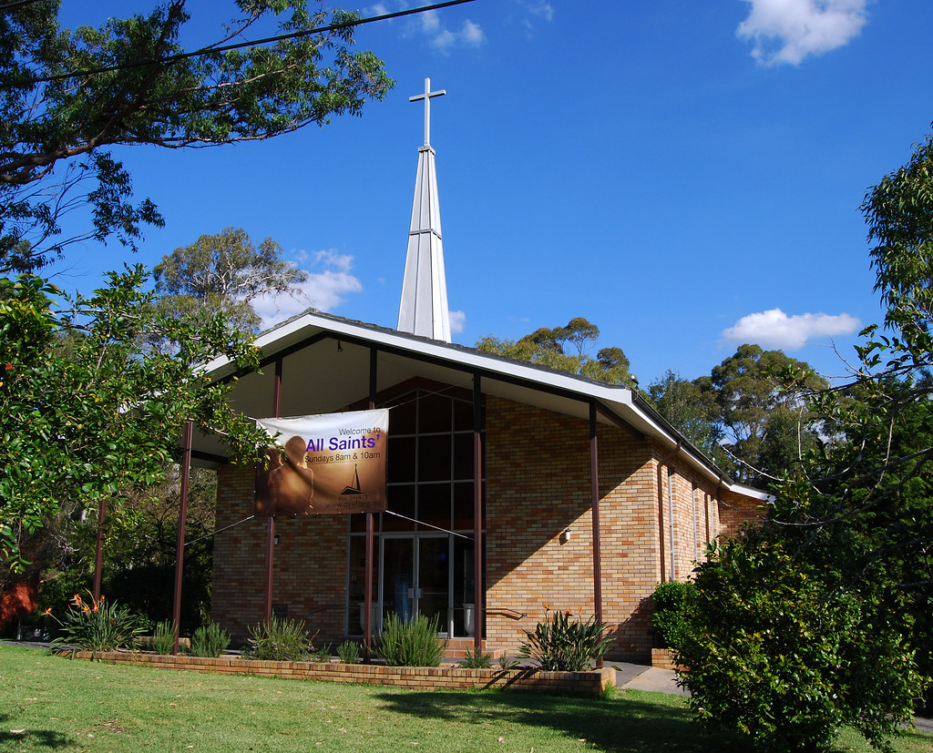 All Saints Air Force Memorial Church, West Lindfield, Sydney, NSW.