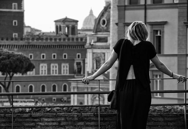Affaccio su Roma