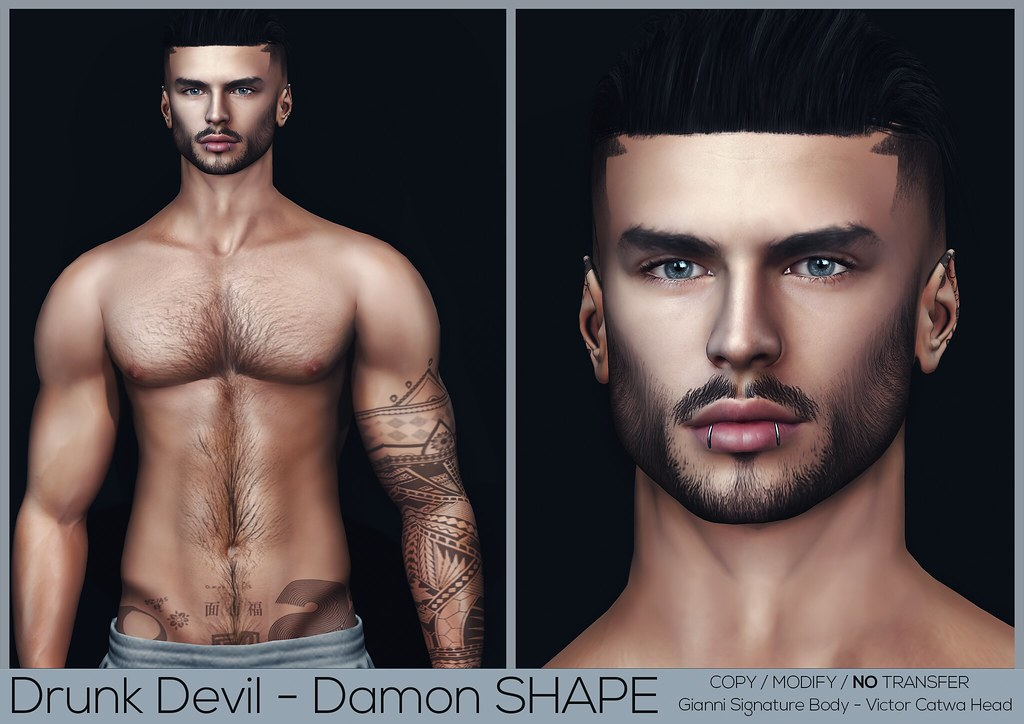 Drunk Devil – Damon #2