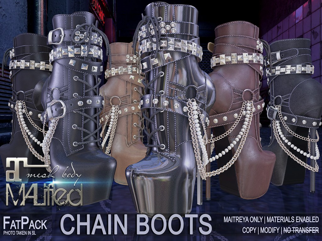 MALified – Chain Boots – FatPack