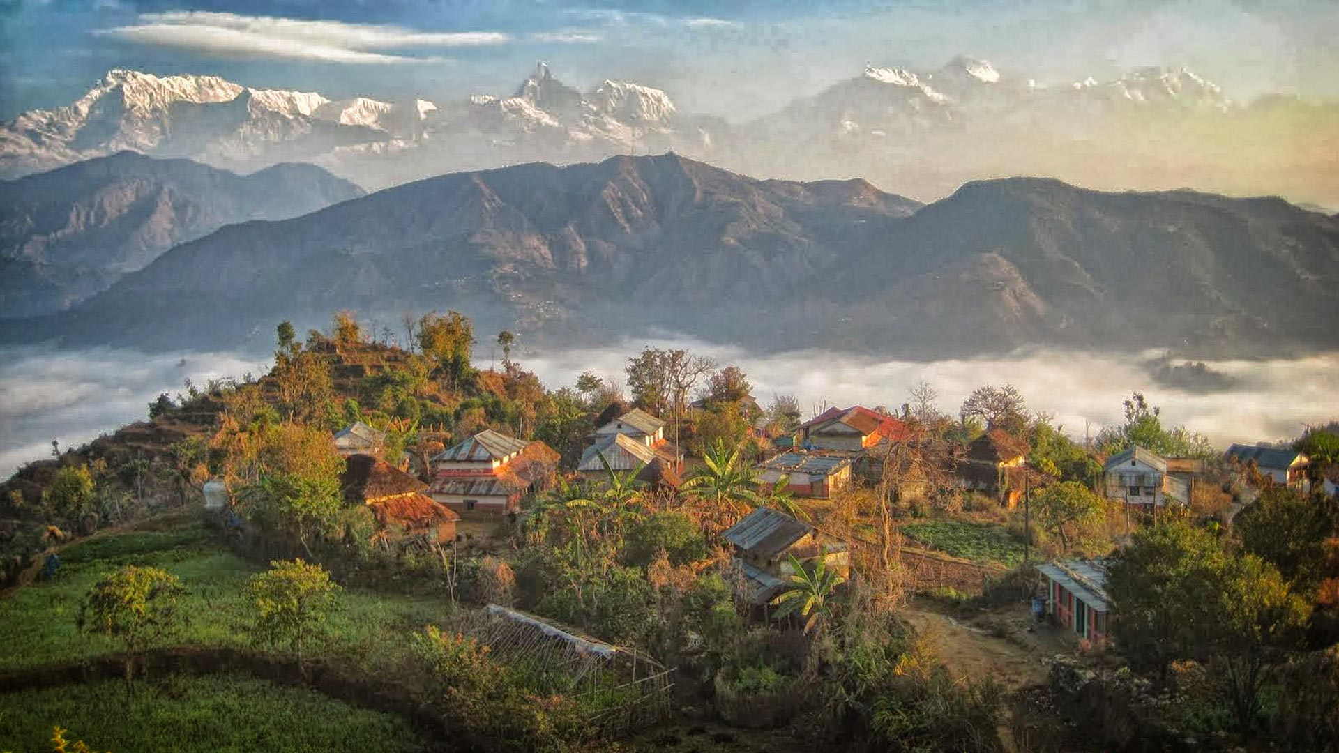 Sirubari Village Homestay - White Himalaya Trekinng in Nepal