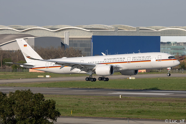 A350-941 German Air Force // F-WZFF