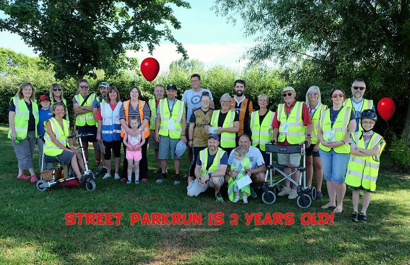 Street parkrun 2nd Birthday  2 May 2020
