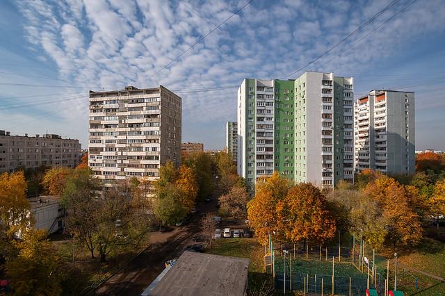 Golden Autumn in Lublino