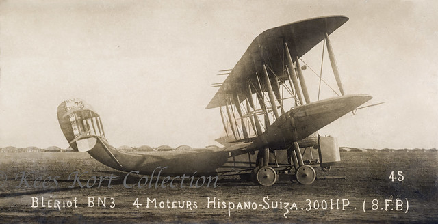 The ill-fated Blériot Type LXXIII / Type 73 before its fatal first flight seen at Villacoublay [France, 1918]