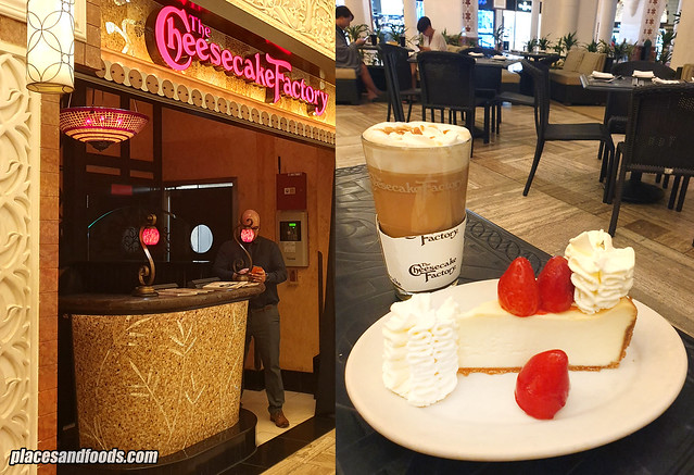 dubai mall cheese cake factory