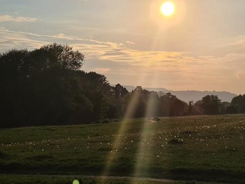 Evening sunbeams. (threejumps)