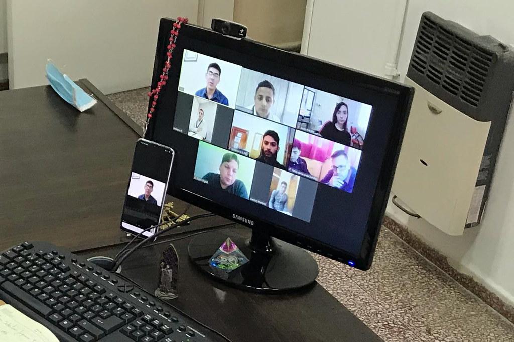 2020-04-28 DESARROLLO HUMANO: Reunión Virtual Dirección Juventud