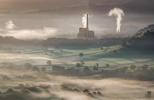 hope england unitedkingdom smoke mist sunrise nature industry anthonywhitesphotography wacomintuospro