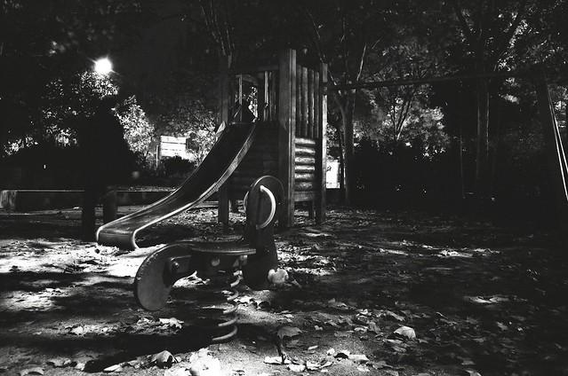 Escondido - Hidden - Olympus XA