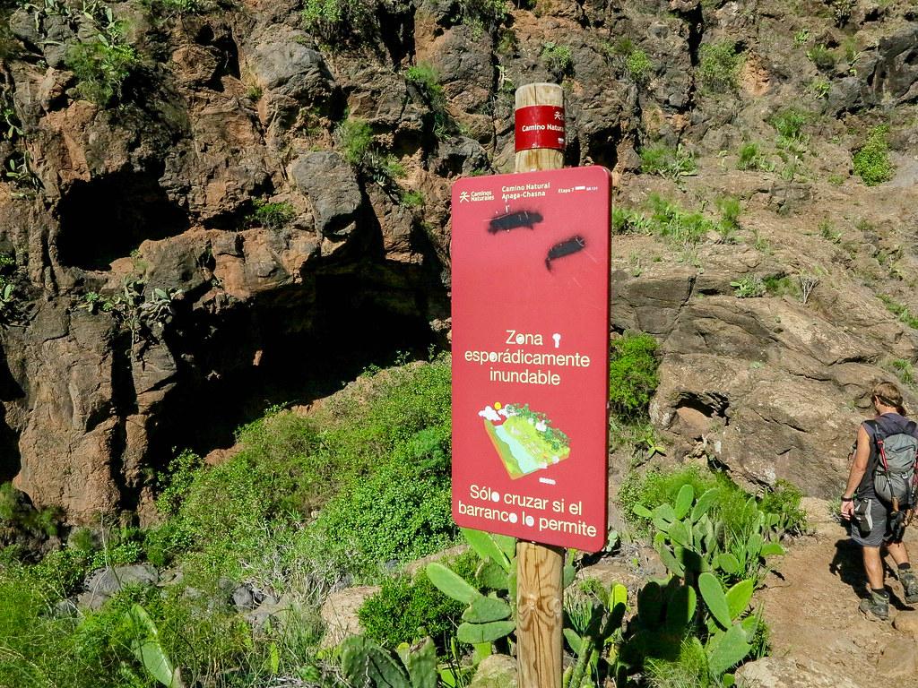 Barranco del Rey en Tenerife