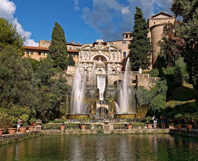 Villa d'Este Tivoli / The Neptune Fountain