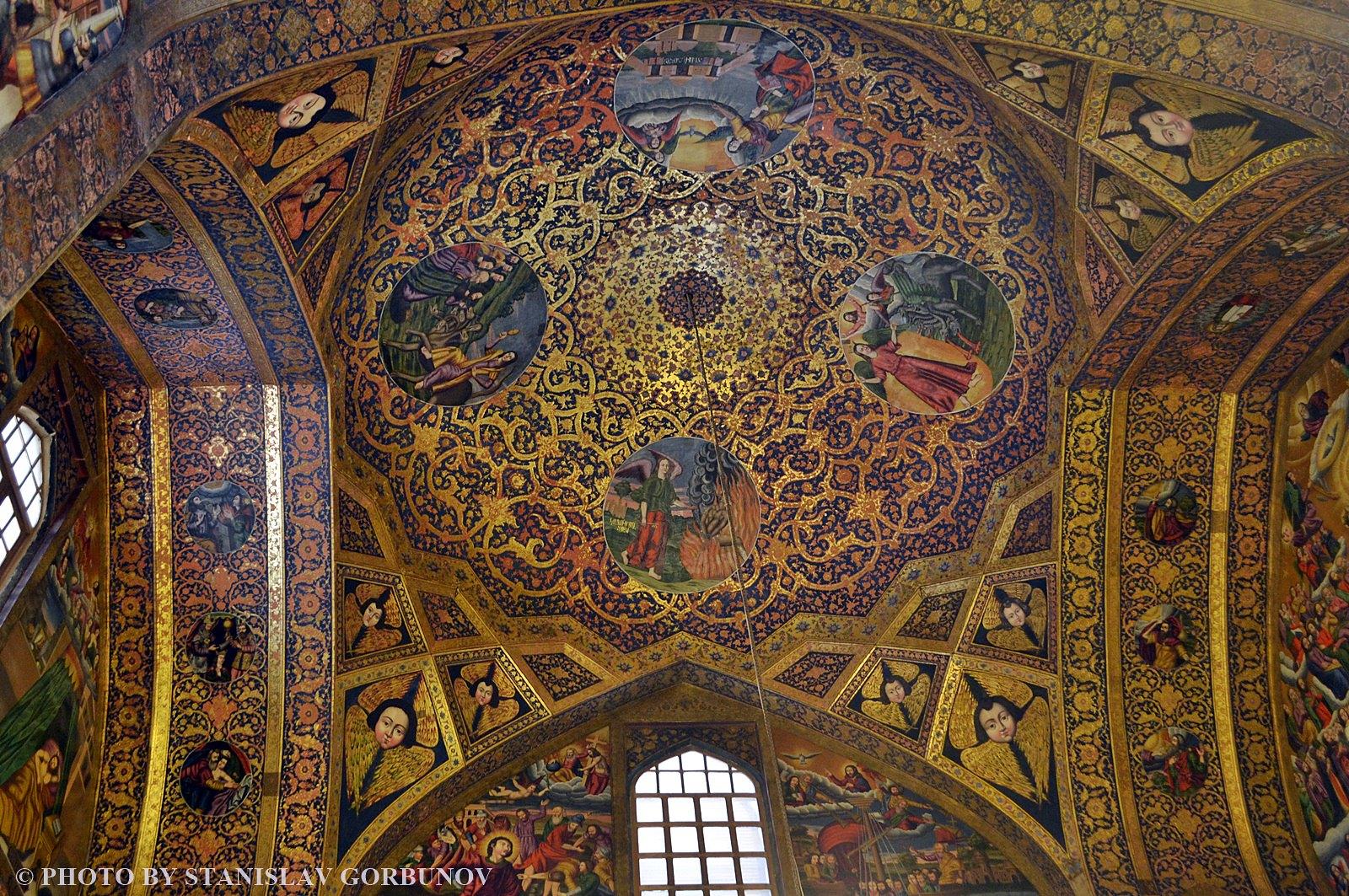 Нор-Джуга. Армянский беспредел в мусульманском Исфахане. armiane09