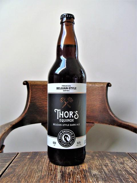 Thor's Equinox Belgian Style Dark Ale