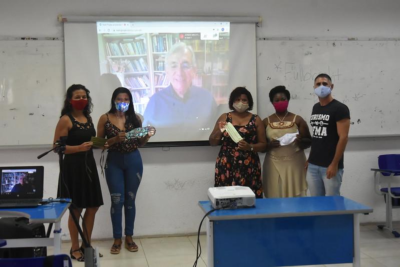 Abertura do Projeto Máscaras pela Vida