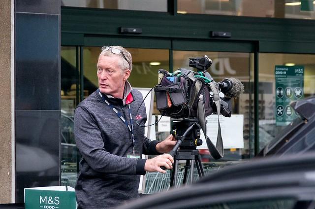 Not just any cameraman