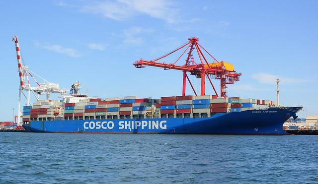 Cosco Antwerp