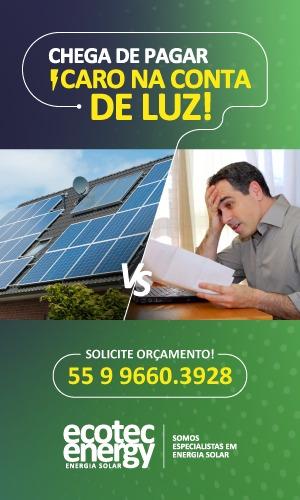 Chega de pagar caro na conta de luz - Vá de Ecotec Energy