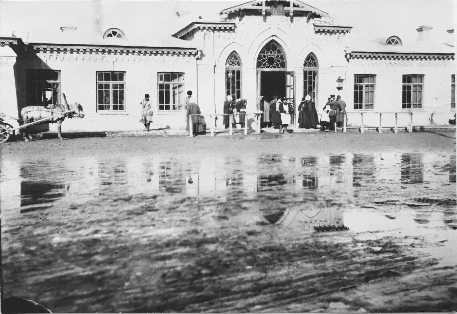 Здание вокзала г. Андижана. 1913