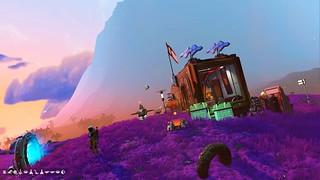 My tiny base encampment