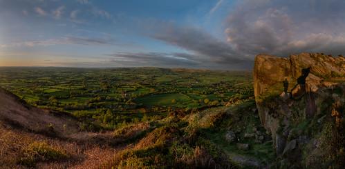 thecloud cheshire bosley spring panorama englishcountryside