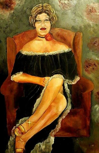 פרידה פירו Frida piro יוצרת ציירת אמנית אומנית פיגורטיבית פלסטית ויזואלית חזותית ישראלית ריאליסטית אינטואיטיבית חדשנית מודרנית עכשווית פמיניסטית ירושלמית דיוקן עצמי