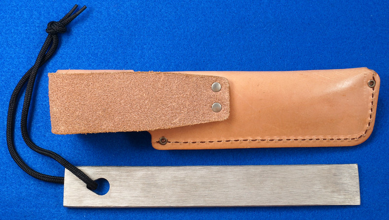 RD29529 Vintage Schrade Old Timer Honesteel with Leather Sheath with Paperwork DSC03129