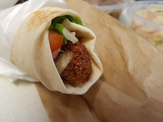 Falafel Kebab from Nonos