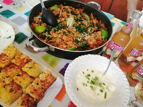 déjeuner mexicain