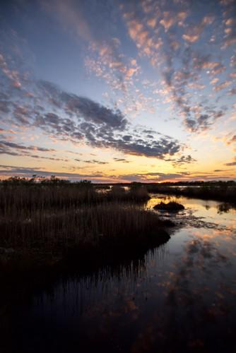 barnegat sunset nj newjersey sky reflection reflections odc peaceful