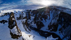 Isländischer Canyon