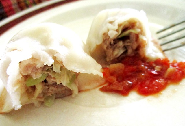 Uncle Q Dumpling, cross-section