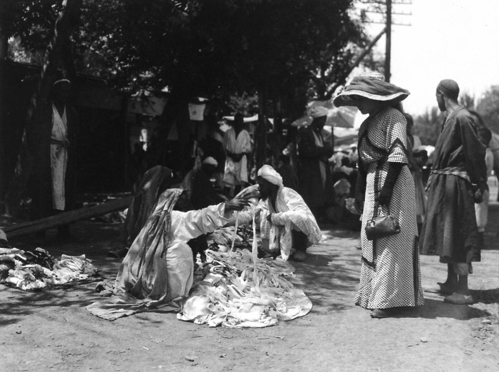 Базар в Андижане. Июнь 1912 года