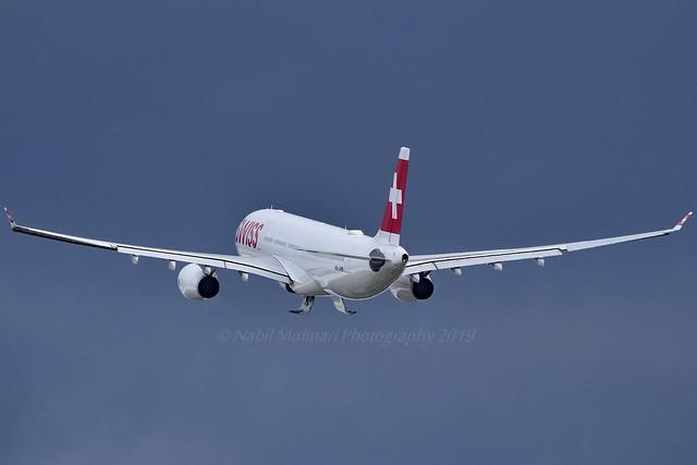 Swiss International Air Lines HB-JHM Airbus A330-343 cn/1355 @ LSZH / ZRH 15-08-2019